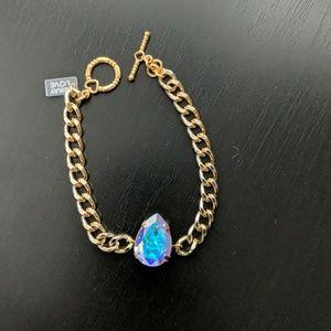 MikayLove Aurora Borealis crystal bracelet